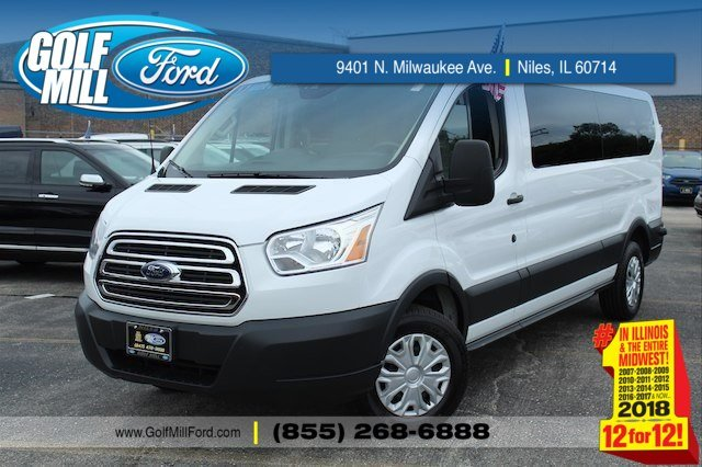2017 Transit 350 Low Roof 4x2,  Passenger Wagon #X8002 - photo 1