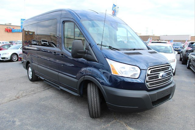 2018 Transit 350 Med Roof 4x2,  Passenger Wagon #X8096 - photo 6