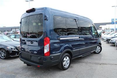2018 Transit 350 Med Roof 4x2,  Passenger Wagon #X8096 - photo 9