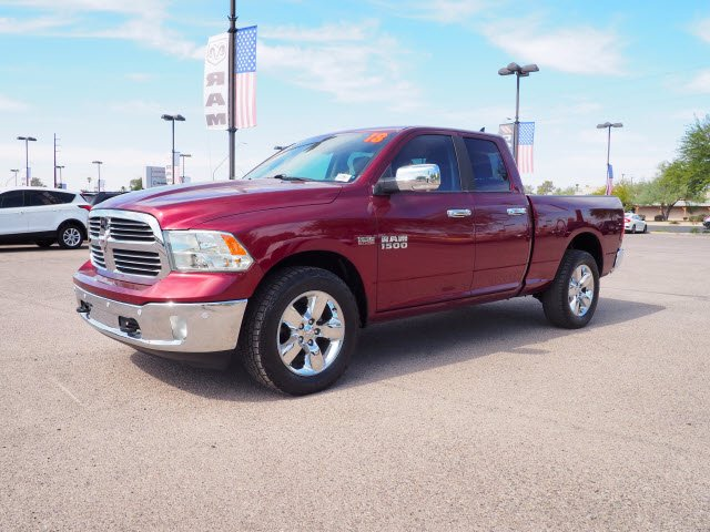 2018 Ram 1500 Quad Cab 4x4,  Pickup #D182870 - photo 4