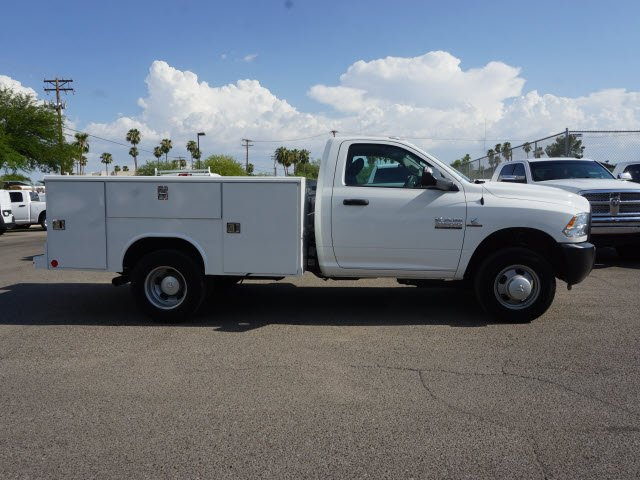 2018 Ram 3500 Regular Cab DRW 4x2,  Reading Service Body #D183365 - photo 4