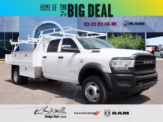 2019 Ram 5500 Crew Cab DRW RWD, Harbor Contractor Body #D193378 - photo 1