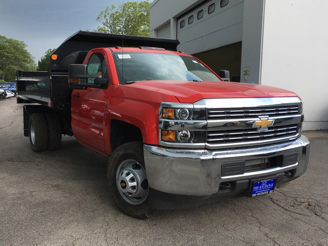 2017 Silverado 3500 Regular Cab DRW, Monroe MTE-Zee Dump Dump Body #C17837 - photo 3