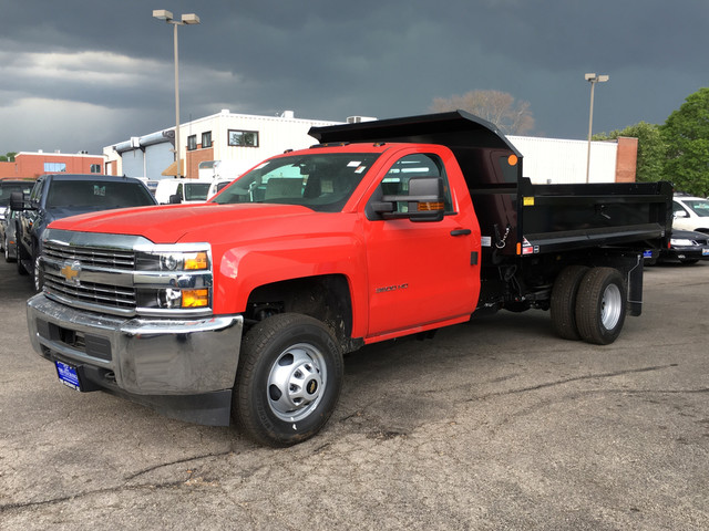 2017 Silverado 3500 Regular Cab DRW, Monroe MTE-Zee Dump Dump Body #C17837 - photo 1
