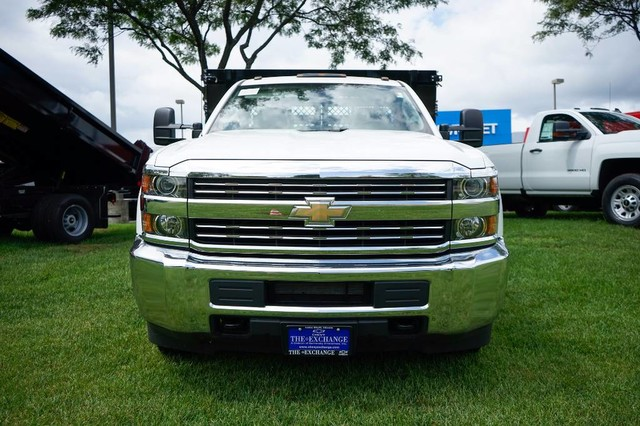 2017 Silverado 3500 Regular Cab DRW Stake Bed #C17883 - photo 4