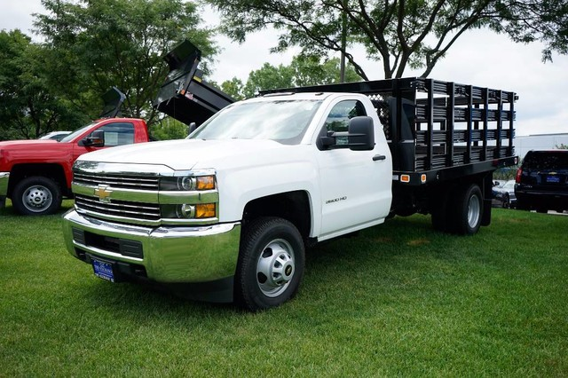 2017 Silverado 3500 Regular Cab DRW Stake Bed #C17883 - photo 1
