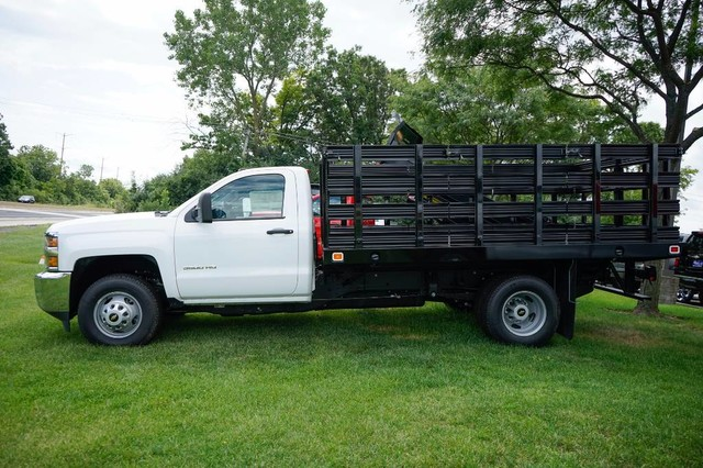 2017 Silverado 3500 Regular Cab DRW, Stake Bed #C17883 - photo 5