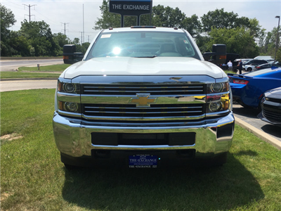 2017 Silverado 3500 Crew Cab DRW, Monroe Platform Body #C17996 - photo 4