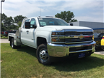 2017 Silverado 3500 Crew Cab DRW, Monroe Platform Body #C17996 - photo 3
