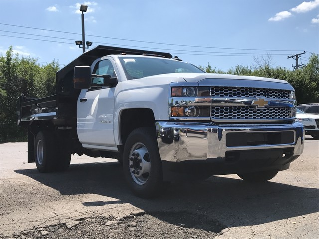 2019 Silverado 3500 Regular Cab DRW 4x2,  Knapheide Dump Body #C19091 - photo 3