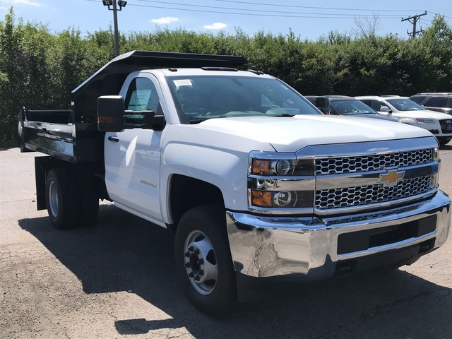 2019 Silverado 3500 Regular Cab DRW 4x2,  Knapheide Dump Body #C19091 - photo 4