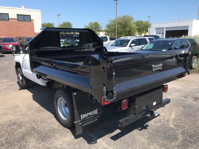 2019 Silverado 3500 Regular Cab DRW 4x2,  Knapheide Dump Body #C19091 - photo 9