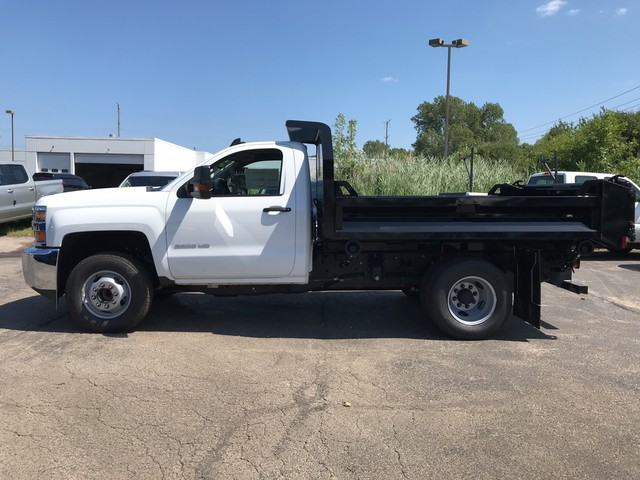 2019 Silverado 3500 Regular Cab DRW 4x2,  Knapheide Dump Body #C19091 - photo 10