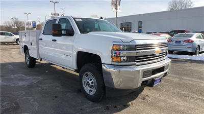 2017 Silverado 2500 Crew Cab, Service Body #C7078 - photo 3