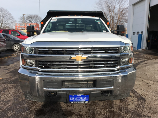 2017 Silverado 3500 Regular Cab DRW 4x4,  Monroe Dump Body #C7185 - photo 6