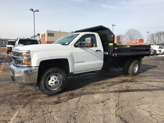 2017 Silverado 3500 Regular Cab DRW 4x4,  Monroe Dump Body #C7185 - photo 7