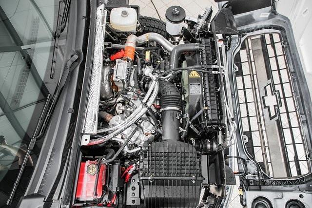 2021 Chevrolet Silverado Medium Duty Crew Cab DRW 4x4, Chipper Body #21138 - photo 22