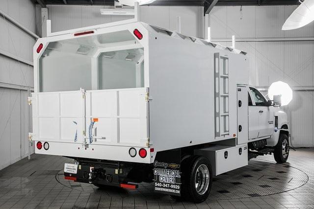 2021 Chevrolet Silverado Medium Duty Crew Cab DRW 4x4, Chipper Body #21138 - photo 1