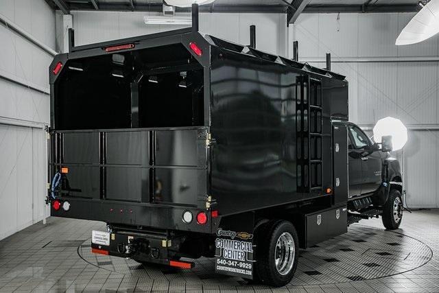 2021 Chevrolet Silverado Medium Duty Crew Cab DRW 4x4, Chipper Body #21140 - photo 1