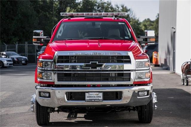 2019 Silverado Medium Duty Regular Cab DRW 4x2, Jerr-Dan Standard Duty Carriers Rollback Body #25059 - photo 8