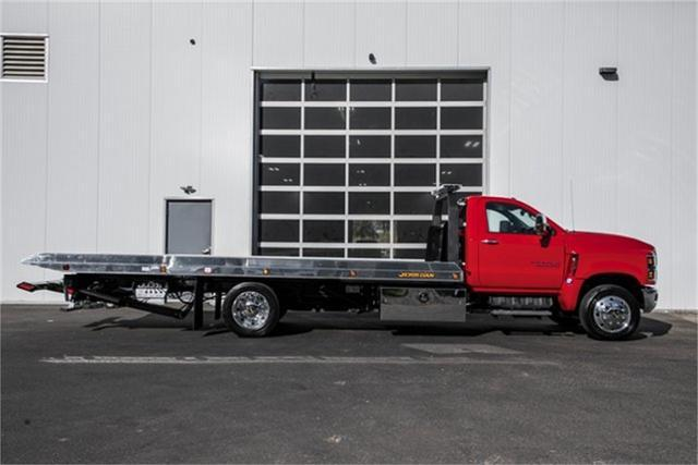 2019 Silverado Medium Duty Regular Cab DRW 4x2, Jerr-Dan Standard Duty Carriers Rollback Body #25059 - photo 9
