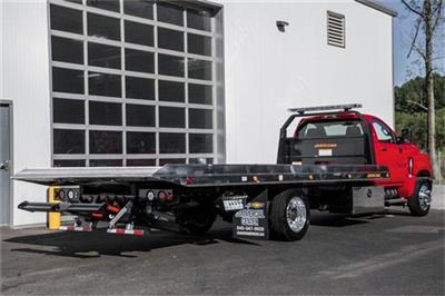 2019 Silverado Medium Duty Regular Cab DRW 4x2, Jerr-Dan Standard Duty Carriers Rollback Body #25059 - photo 10