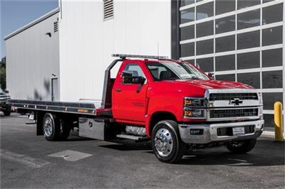 2019 Silverado Medium Duty Regular Cab DRW 4x2, Jerr-Dan Standard Duty Carriers Rollback Body #25059 - photo 6