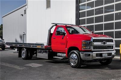 2019 Silverado Medium Duty Regular Cab DRW 4x2, Jerr-Dan Standard Duty Carriers Rollback Body #25059 - photo 7