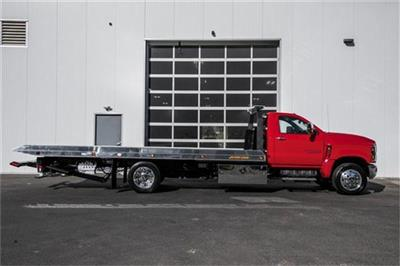 2019 Silverado Medium Duty Regular Cab DRW 4x2, Jerr-Dan Standard Duty Carriers Rollback Body #25059 - photo 9