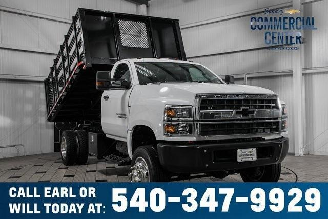 2020 Chevrolet Silverado Medium Duty Regular Cab DRW 4x4, Morgan Platform Body #25675 - photo 1