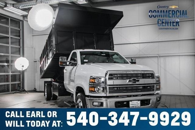 2020 Chevrolet Silverado Medium Duty Regular Cab DRW RWD, SH Truck Bodies Landscape Dump #25894 - photo 1