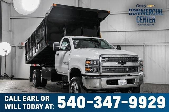 2020 Chevrolet Silverado Medium Duty Regular Cab DRW 4x4, SH Truck Bodies Landscape Dump #25897 - photo 1