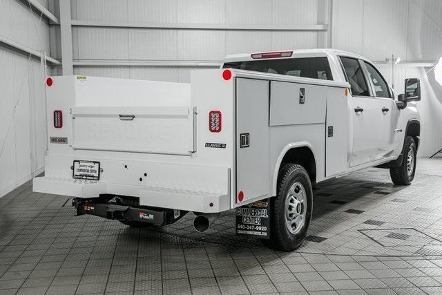 2021 Chevrolet Silverado 2500 Crew Cab 4x4, Reading Service Body #26294 - photo 1