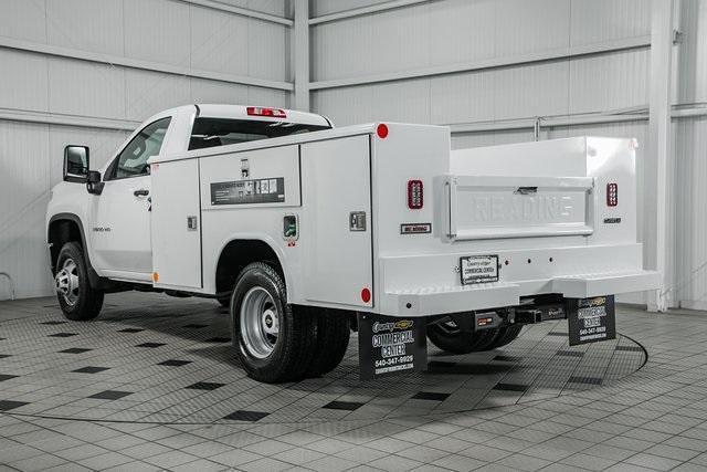 2021 Silverado 3500 Regular Cab 4x4,  Reading Classic II Steel Service Body #26473 - photo 6