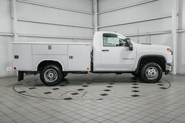 2021 Silverado 3500 Regular Cab 4x4,  Reading Classic II Steel Service Body #26473 - photo 7
