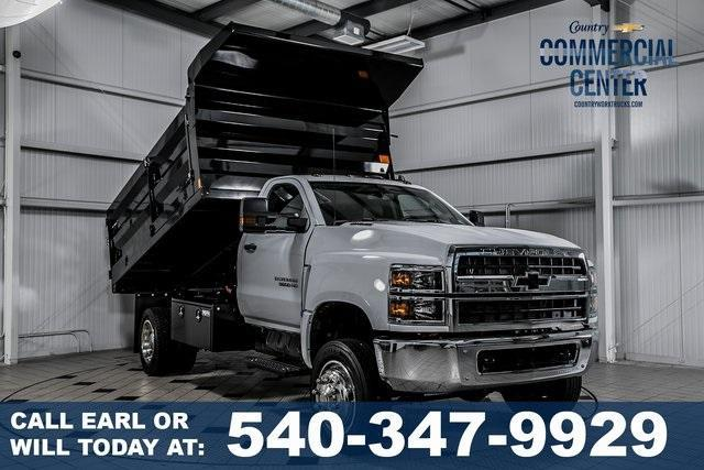 2019 Silverado Medium Duty Regular Cab 4x4,  Landscape Dump #99417 - photo 1