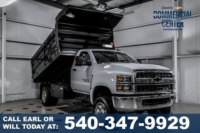 2019 Silverado Medium Duty Regular Cab 4x4,  Landscape Dump #99450 - photo 1