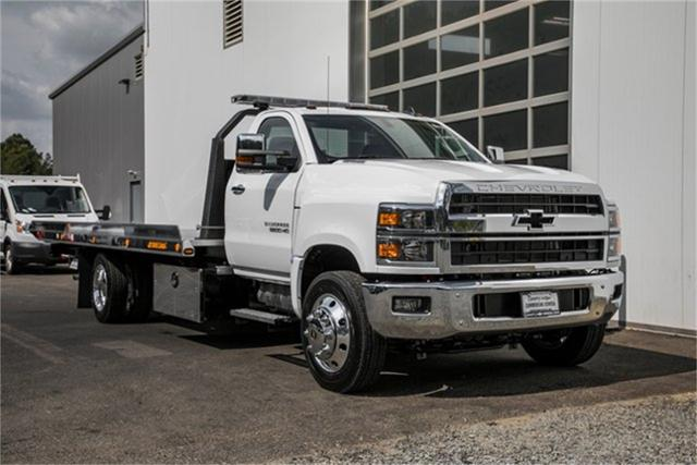 2019 Chevrolet Silverado Medium Duty Regular Cab DRW RWD, Jerr-Dan Standard Duty Carriers Rollback Body #99499 - photo 5