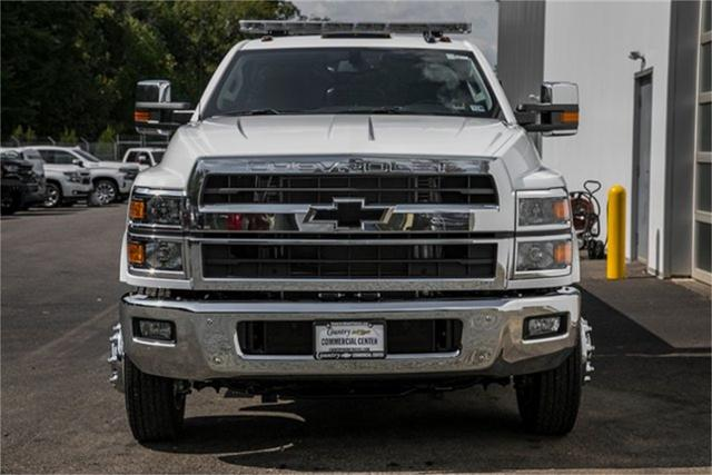 2019 Silverado Medium Duty Regular Cab DRW 4x2, Jerr-Dan Standard Duty Carriers Rollback Body #99499 - photo 6