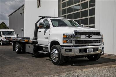 2019 Silverado Medium Duty Regular Cab DRW 4x2, Jerr-Dan Standard Duty Carriers Rollback Body #99499 - photo 5