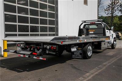 2019 Silverado Medium Duty Regular Cab DRW 4x2, Jerr-Dan Standard Duty Carriers Rollback Body #99499 - photo 8