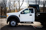 2017 F-550 Regular Cab DRW 4x4, Rugby Z-Spec Dump Body #53007 - photo 5