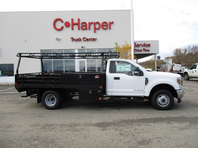 2018 F-350 Regular Cab DRW 4x4,  Freedom Platform Body #T1204 - photo 3