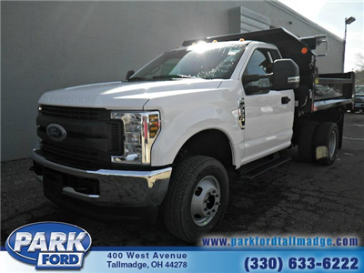 2018 F-350 Regular Cab DRW 4x4,  Monroe MTE-Zee Dump Dump Body #T431 - photo 1