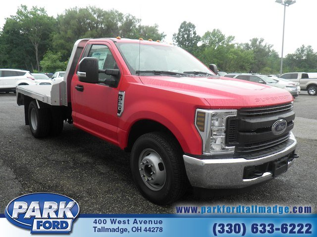 2018 F-350 Regular Cab DRW 4x2,  M H EBY Platform Body #T790 - photo 6