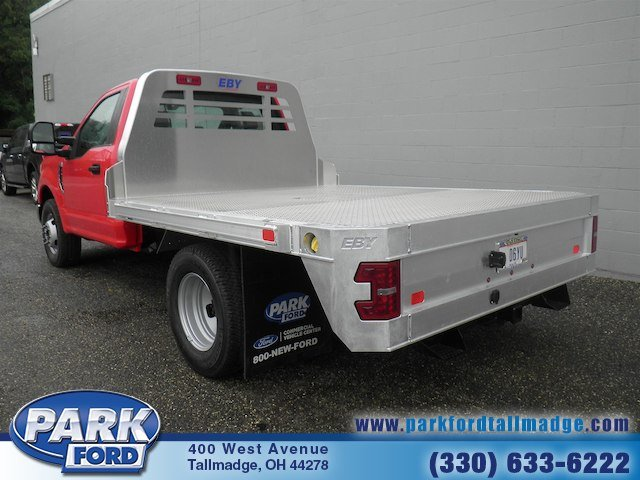 2018 F-350 Regular Cab DRW 4x2,  M H EBY Platform Body #T790 - photo 2