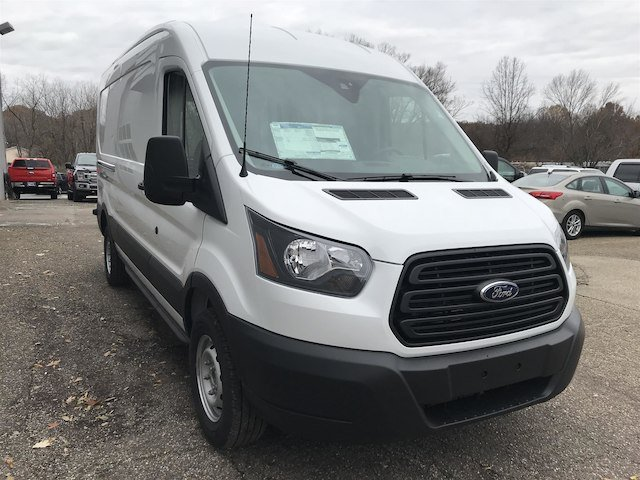 2019 Transit 350 Med Roof 4x2,  Empty Cargo Van #V062 - photo 6