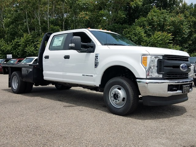 2017 F-350 Crew Cab DRW 4x4, Platform Body #71614 - photo 10