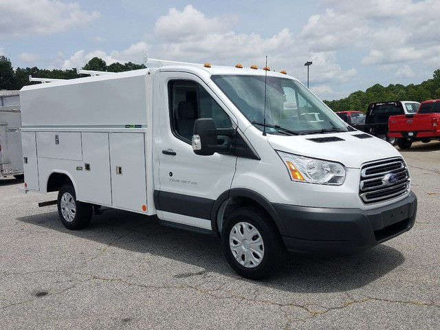 2017 Transit 350, Reading Aluminum CSV Service Utility Van #71697 - photo 9