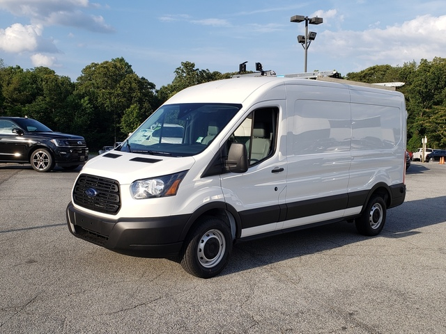 2019 Transit 250 Med Roof 4x2, Adrian Steel PHVAC Upfitted Cargo Van #91636 - photo 4